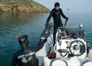 Εκδρομές για ψαροντούφεκο στην Πάρο