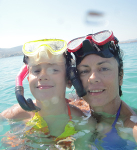 Paros boat trips for snorkeling