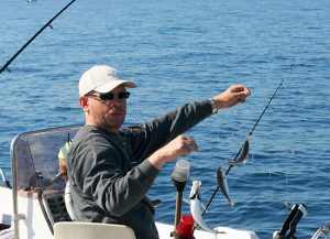 Πάρος ψάρεμα από σκάφος